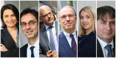 Corinne d'Agrain, Laurent de Calbiac, Alain Di Crescenzo, Pascal mailhos, Nadia Pellefigue, Philippe Robardey