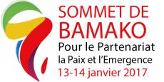Le Sommet de Bamako (Mali), les 13 et 14 janvier 2017.