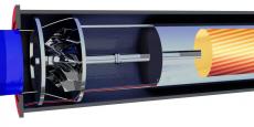 La microturbine commercialisée par Saint-Gobain PAM.