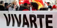 Alors que Vivarte est en pleine restructuration, les syndicats s'attendent à quelque 2.000 suppressions de postes.