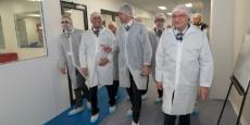 L'unité de production a été inaugurée en présence de nombreux élus, à l'instar du député-maire Olivier Dussopt (PS), Hervé Saulignac, président (PS) du Conseil départemental de l'Ardèche, Simon Plenet, président (PS) d'Annonay Rhône Agglo ou encore de Laurent Wauquiez (LR), président d'Auvergne-Rhône-Alpes.