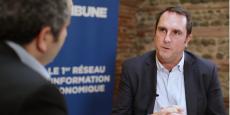 Gaëtan Gueguen, directeur territorial d'Enedis (ex ERDF)