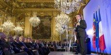 Emmanuel Macron, lors de sa venue à Lyon en juin 2016.