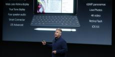 Vice-président marketing d'Apple, Phil Schiller présentait le nouvel Ipad Pro de la marque à la pomme le 21 mars dernier.