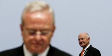 Martin Winterkorn (à gauche) prétend n'avoir rien su avant l'éclatement de l'affaire par la presse. Ferdinand Piëch (à droite) affirme le contraire...