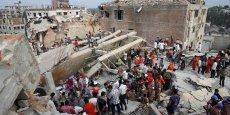 La catastrophe du Rana plaza avait également blessé plus d'un millier de personnes.