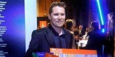 Hatem Oueslati, cofondateur et CEO de la start-up montpelliéraine IoTerop, lauréat du prix EDF Pulse 2016.