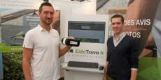 Jean-Bernard et Hugo Melet, cofondateur d'EldoTravo