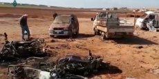 PLUS DE 50 MORTS DANS UN ATTENTAT PRÈS D'AL BAB