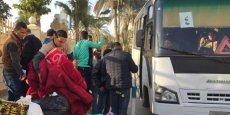 LES CHRÉTIENS D'EGYPTE FUIENT LES ATTAQUES DE L'EI DANS LE SINAÏ
