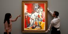 Artiste le plus performant en 2015, Pablo Picasso a été relayé à la deuxième place l'année dernière par le chinois Zhang Daqian. (En photo : Femme nue assise de Pablo Picasso).