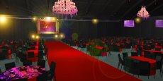 Le hall 7 rénové pourra accueillir des conventions d'entreprises jusqu'à 1800 personnes.