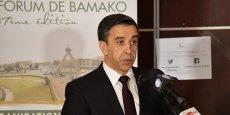 Ali Haddad, président du Forum des chefs d'entreprise (FCE) algériens.