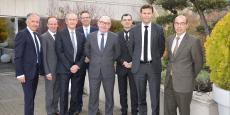 Le comex de la Banque Rhône-Alpes