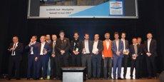 Les lauréats de l'édition 2017 des Pyramides d'Argent, organisées par la FPI Occitanie-Méditerranée.
