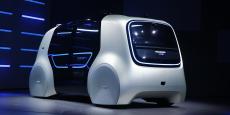 La marque allemande a présenté le concept Sedric qui préfigure l'idée que le groupe allemand se fait de la voiture de demain : électrique et autonome.
