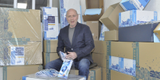 Stéphane Calassou a développé une boîte isotherme pour envoyer des produits frais.