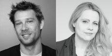 Yoann Bazin et Viriginie Martin