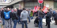 Les salariés de Ford Aquitaine Industries (ici pendant la manifestation du 20 mars) veulent être sûr que la production de l'usine soit suffisante pour assurer l'avenir.