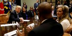 Hier, jeudi 23 mars, à la Maison-Blanche, réunion sous haute tension entre Donald Trump et les élus républicains.