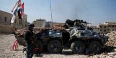 LES FORCES IRAKIENNES ÉLABORENT DE NOUVELLES TACTIQUES À MOSSOUL