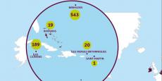 Aux îles Caïmans, les quatre plus grandes banques françaises, BNP, BPCE, Crédit Agricole et Société Générale, réalisent 174 millions d'euros de bénéfices bien qu'elles n'y emploient personne relève Oxfam dans son rapport.