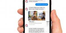 La Société Générale s'est associée à la startup française Jam pour expérimenter ce nouveau canal de conversation avec la nouvelle génération.