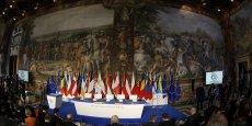 LES DIRIGEANTS EUROPÉENS CÉLÈBRENT À ROME UNE UNION FRAGILISÉE