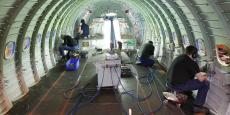 Regroupant notamment la fabrication de parties de fuselage ou de portes d'avions, les aérostructures représentent aujourd'hui les deux tiers du chiffre d'affaires de Latécoère.
