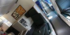L'intérieur d'un Airbus pour Cathay Pacific