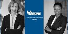 Corinne Hardy et Cathia Lawson, LTWA 2015 catégorie Manager