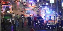 L'aéroport d'Istanbul Atakurk en Turquie le 28 juin après un triple attentat suicide