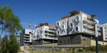 Immobilier neuf, Parc Marianne à Montpellier.
