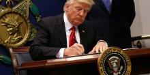 Levee de boucliers contre le decret trump sur l'immigration
