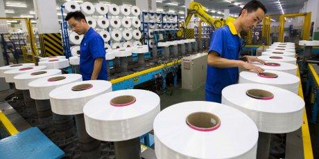 Plus forte contraction en 2 ans du secteur manufacturier chinois