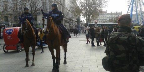 Police municipale à cheval