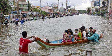Le bilan des inondations en inde s'alourdit
