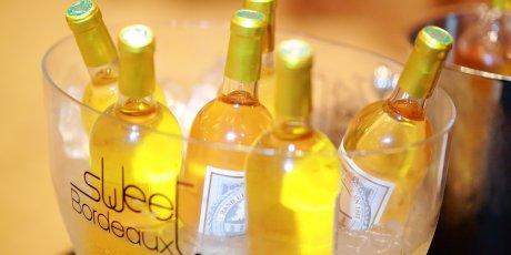 Sweet Bordeaux vins blancs doux