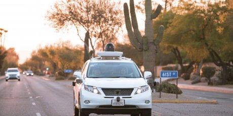 google car voiture autonome