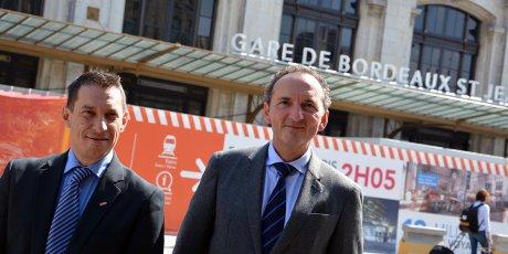 TER Philippe Bru et Franck Lacroix / SNCF