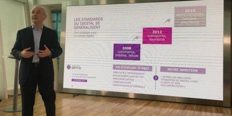 François Pérol BPCE plan digital