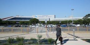 L'aéroport de Toulouse.