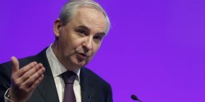 François Pérol, président du directoire de BPCE.