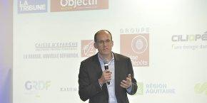 Arnaud Desrentes, PDG d'Exoès, annonce un contrat de coopération avec Modine.