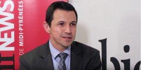 Mikel Charritton, directeur général du sous-traitant aéronautique Lauak.