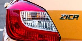 """Le constructeur automobile indien Tata Motors doit présenter cette semaine sa citadine """"Zica"""" lors du salon Auto Expo 2016 à New Delhi."""