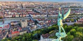 Le leader français et européen de l'immobilier tertiaire compte sortir de son pré carré, le Grand Paris, pour développer des programmes de construction de logements dans les métropoles régionales comme Lyon (photo), Marseille, Toulouse, Bordeaux et Lille.