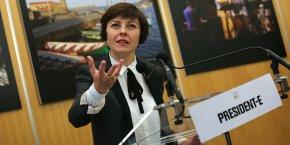 Carole Delga a été investie à la tête de la Région le 4 janvier 2016.