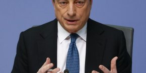 Mario Draghi, président de la Banque centrale européenne