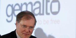 Olivier Piou, directeur général de Gemalto quittera ses fonctions fin août